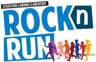 Stratford Landing PTA Rock N Run Logo